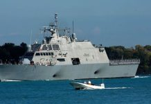 buque de guerra Reino Unido