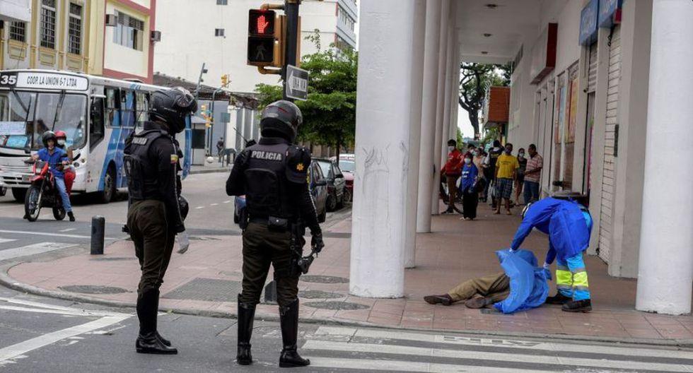 En Guayaquil, la gente se tomó al covid-19 como si fuera nada