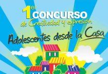 Afiche promocional Concurso Adolescentes desde la casa (1) (1)