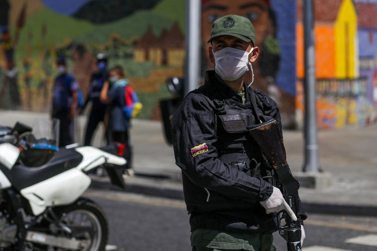 Cuarentena Caracas GNB