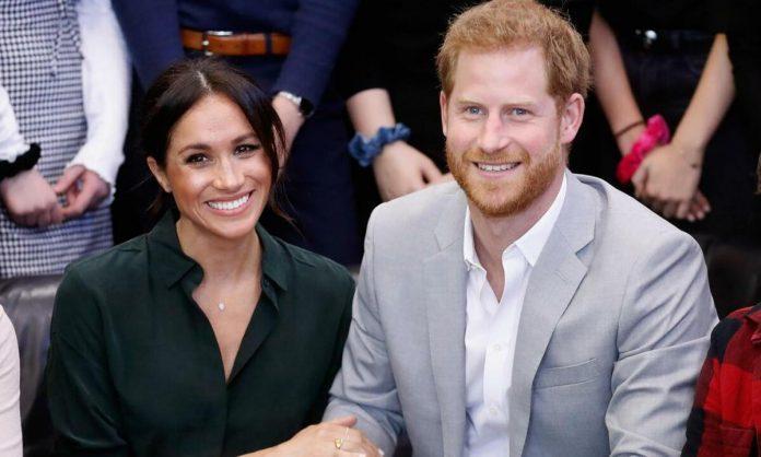 Meghan Markle y el príncipe Harry paparazzi