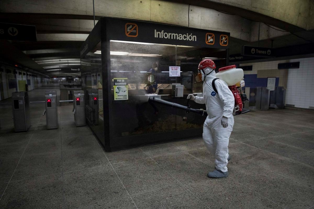 Metro de Caracas coronavirus