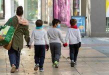 Niños cuarentena salud mental
