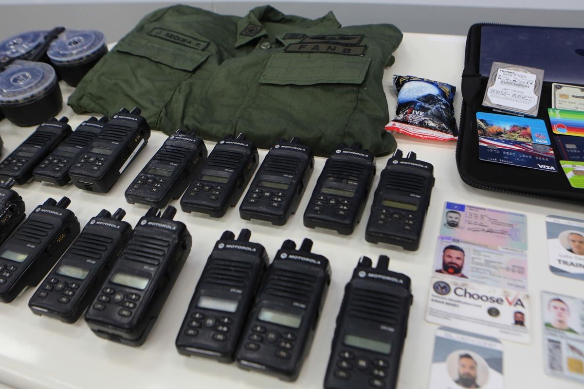 Operación Gedeón, identificados 20 miembros operación gedeón