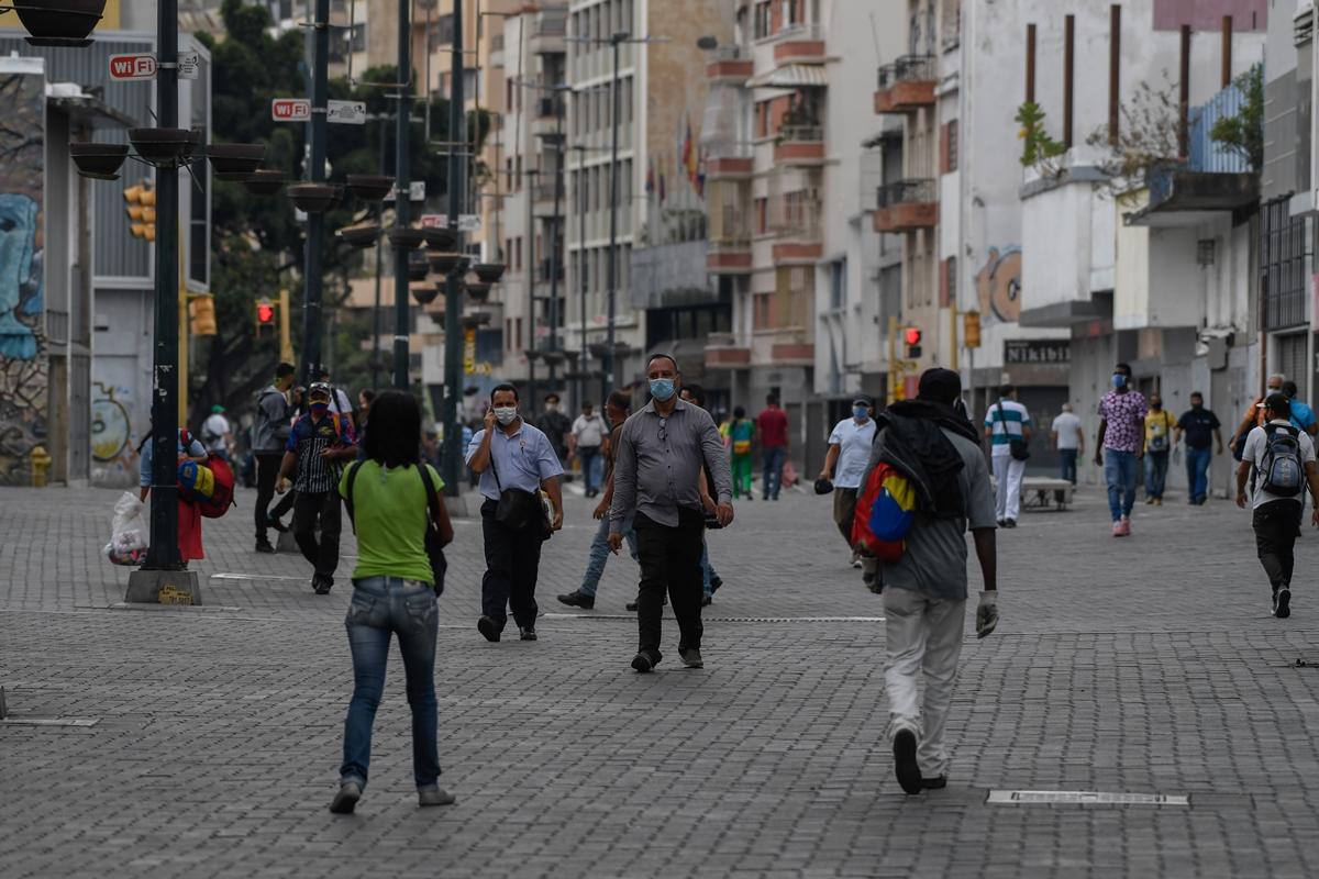 Coronavirus en Venezuela, Caracas flexibilizanción levantamiento de la cuarentena