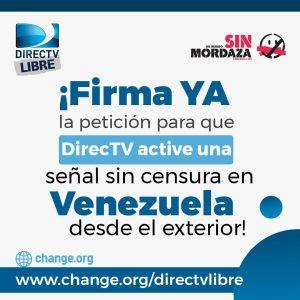 Realizarán tuitazo para pedir un Directv sin censura en Venezuela 2