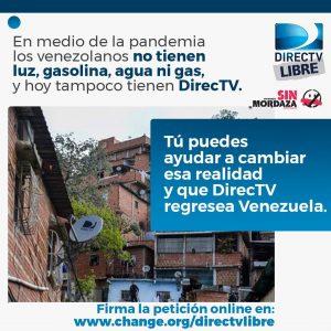 Realizarán tuitazo para pedir un Directv sin censura en Venezuela 4