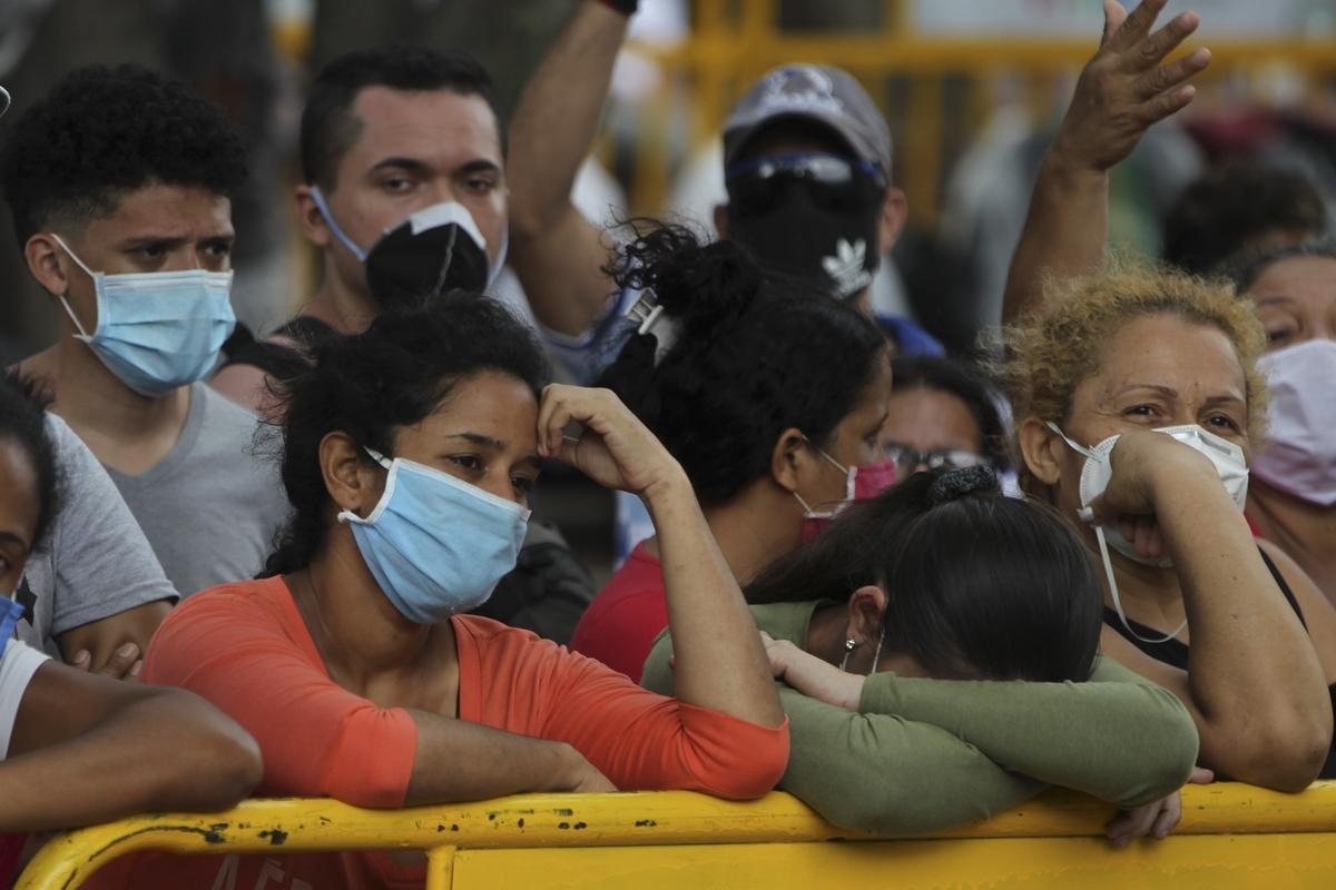 Migrantes venezolanos en Cali