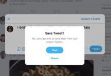 Guardar y programar Tweet