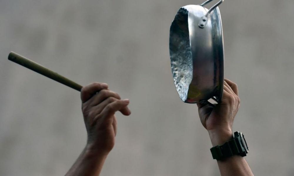Caracas: suenan las cacerolas en Caracas luego del apagón