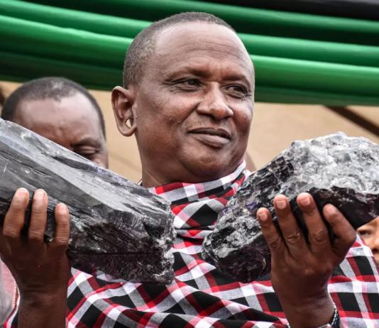 Un minero de Tanzania se hace millonario tras descubrir dos trozos gigantes de tanzanita