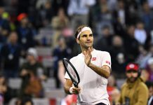 Federer rodilla