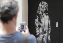 Banksy en homenaje a las víctimas Bataclan