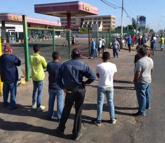 protestas combustible
