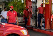 plan de contingencia Escasez de gasolina, estaciones de servicio, funcionarios, Pdvsa, placa