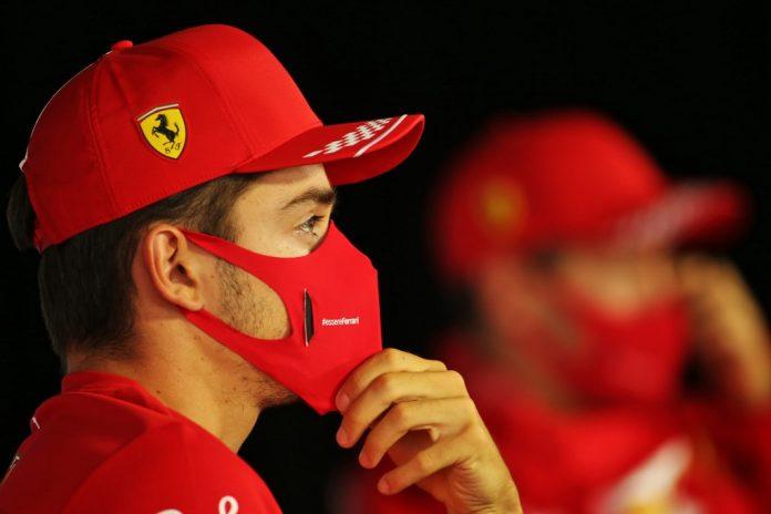 Charles Leclerc, Ferrari, coronavirus