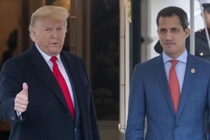 Donald Trump sobre Guiadó