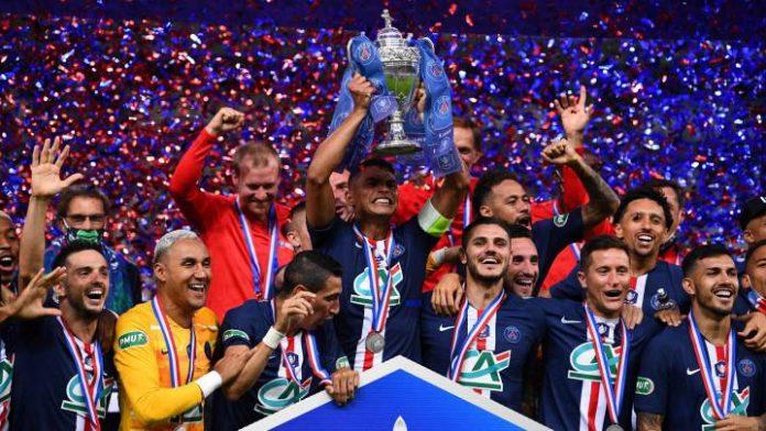 El París Saint Germain ganó 1-0 a Saint Étienne y se proclamó campeón de la Copa de Francia