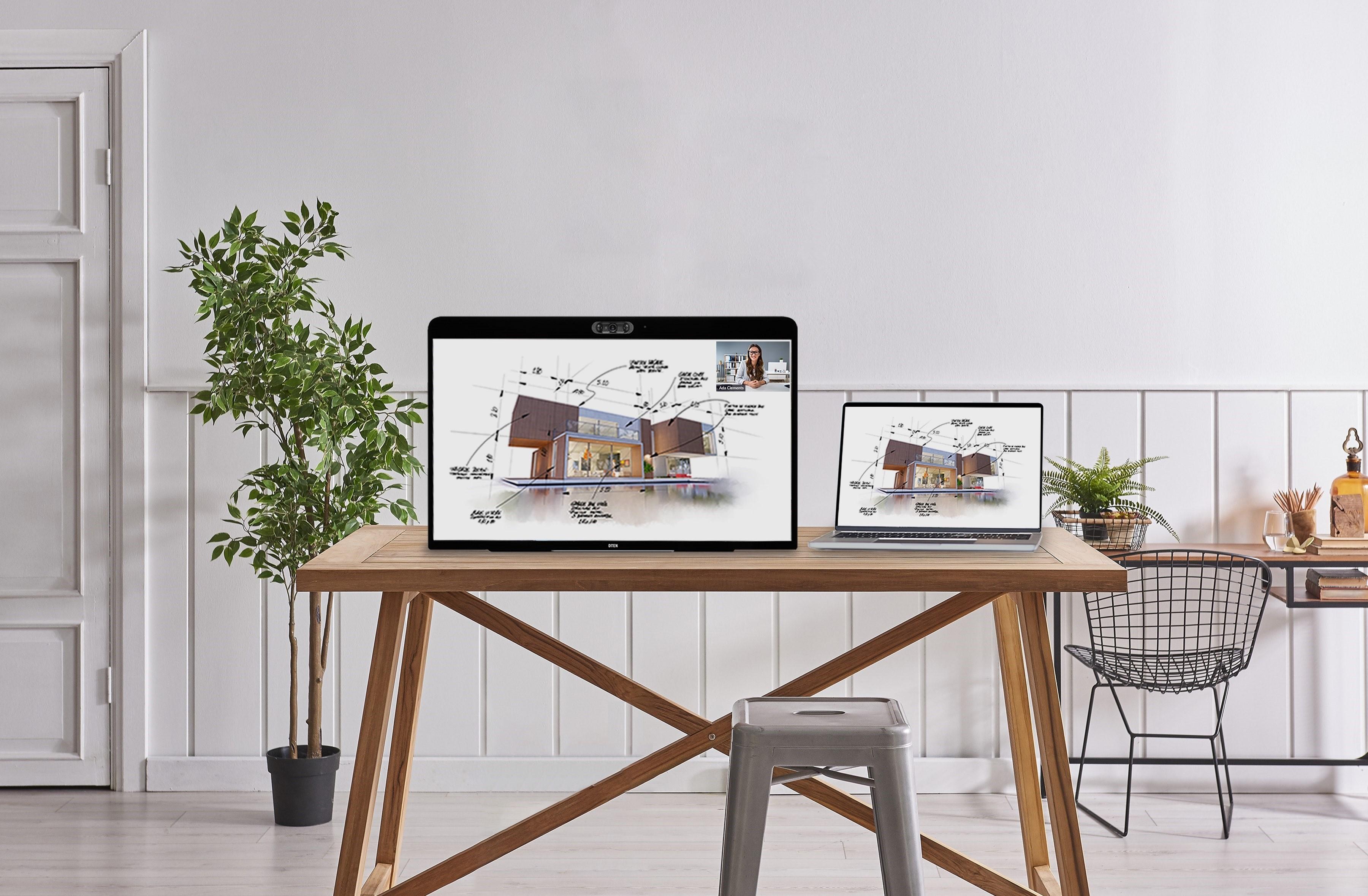 Zoom lanza pantalla con cámaras dirigida al 'home office'