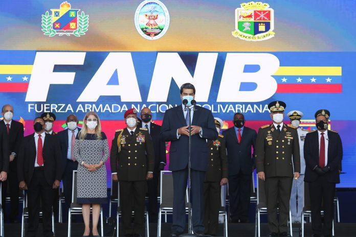 Nicolás Maduro FANB Acto de retiro de la promoción del 87