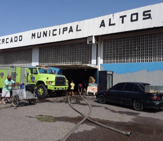 Cerraron el mercado Altos de Jalisco en Maracaibo por detectar 12 casos de covid-19
