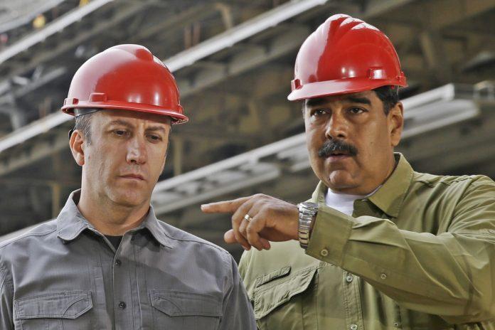 Nicolás Maduro y los trabajadores petroleros