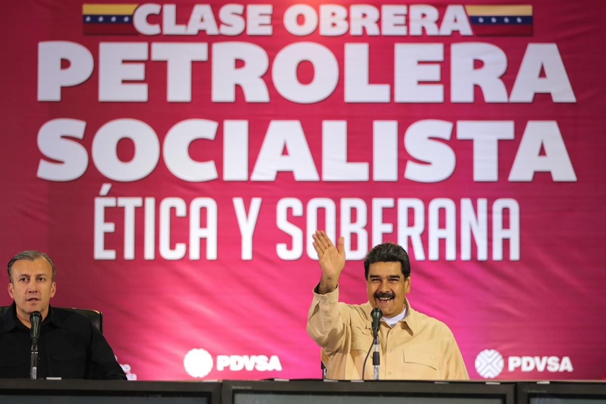 Nicolás Maduro, Tareck El Aissami, Pdvsa