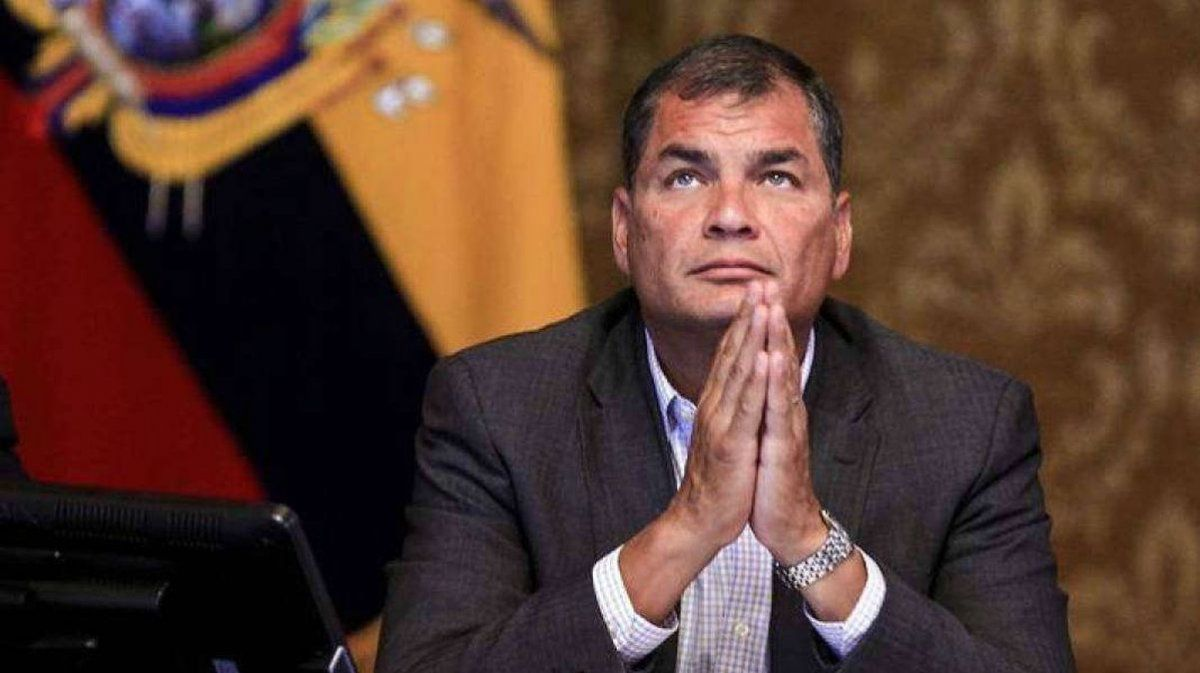 Rafael Correa, Patricia Terán, Ecuador