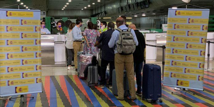 vuelo de repatriación-España-Pandemia