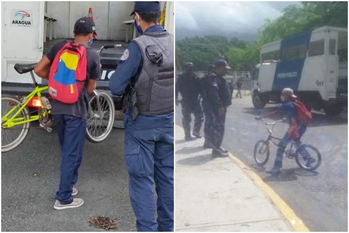 Gobernador de Aragua negó que esté prohibido circular en bicicleta 2