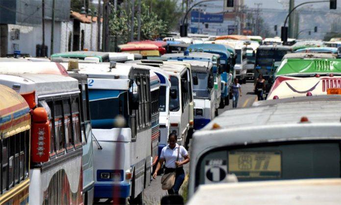 Conductores exigieron la reactivación del transporte público en Cumaná
