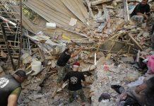 Encontraron a una niña con vida enterrada bajo los escombros en Beirut