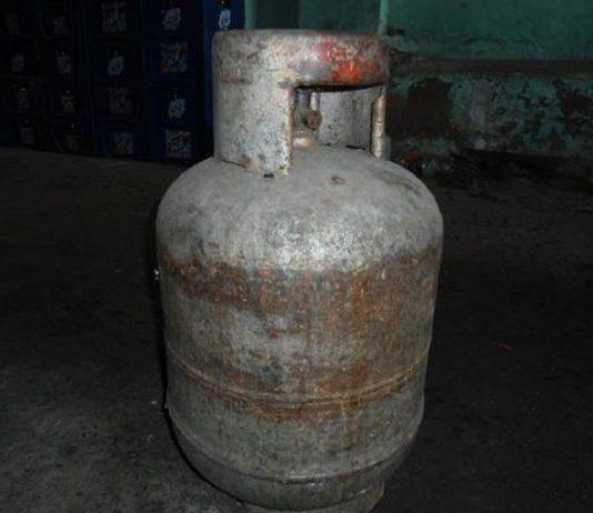 explosión de bombona de gas