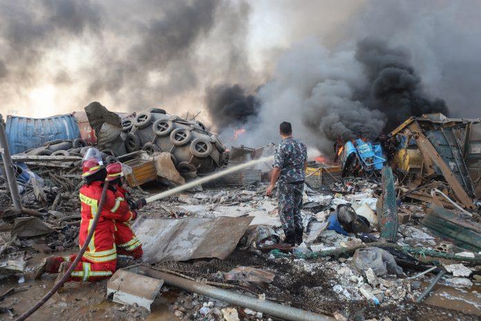 Israel anunció que no tuvo nada que ver con la explosión en Beirut