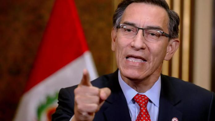 Martín Vizcarra: Congreso admite moción de vacancia presidencial