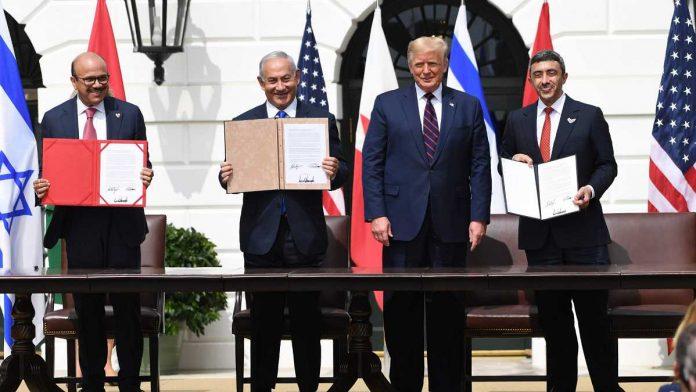 Israel firmó con Emiratos y Baréin los Acuerdos de Abraham en la Casa Blanca