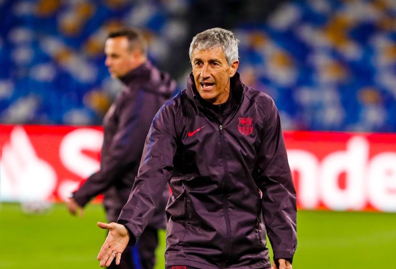Setién denunciará al Barcelona por la liquidación de su contrato
