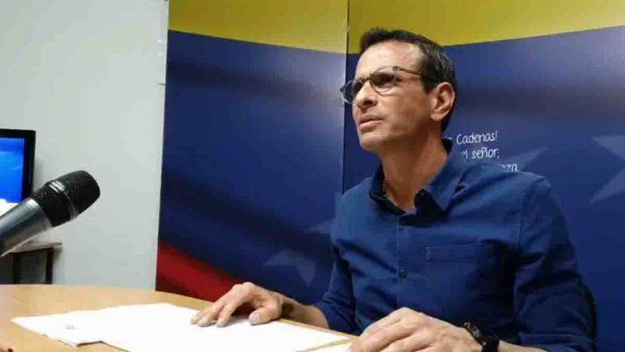 Capriles elecciones