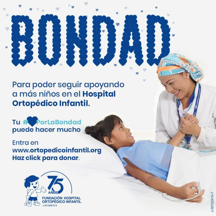 La Fundación Venezolana Contra la Parálisis Infantil inició su campaña de recaudación a beneficio del Hospital Ortopédico Infantil