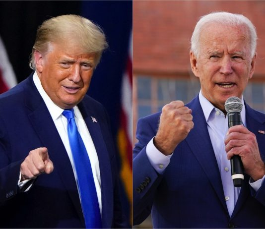 Trump Biden Prueba antidopaje