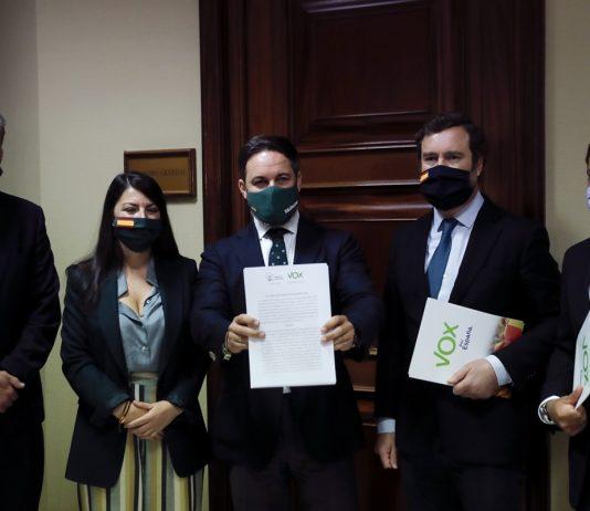 Moción de censura contra pedro sánchez