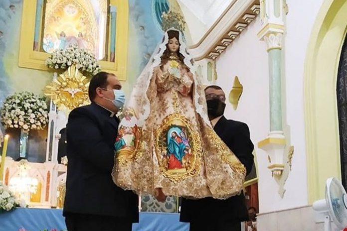 Misa en honor a la Virgen del Valle