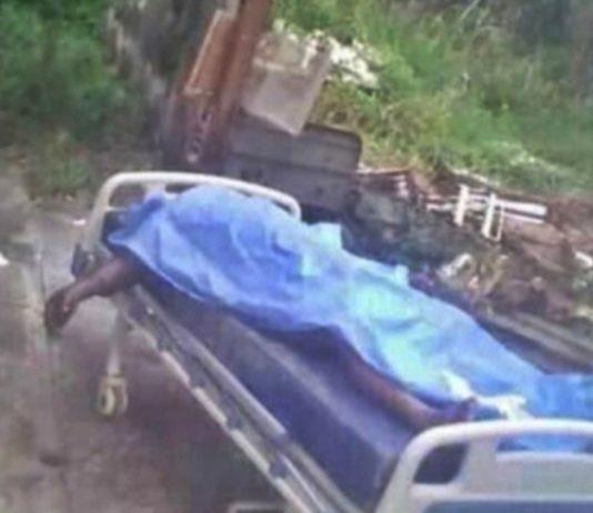cadáver patio hospital portuguesa