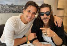Diego Boneta y Oscar Jaenada