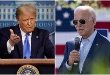 Donald Trump Joe Biden en Florida