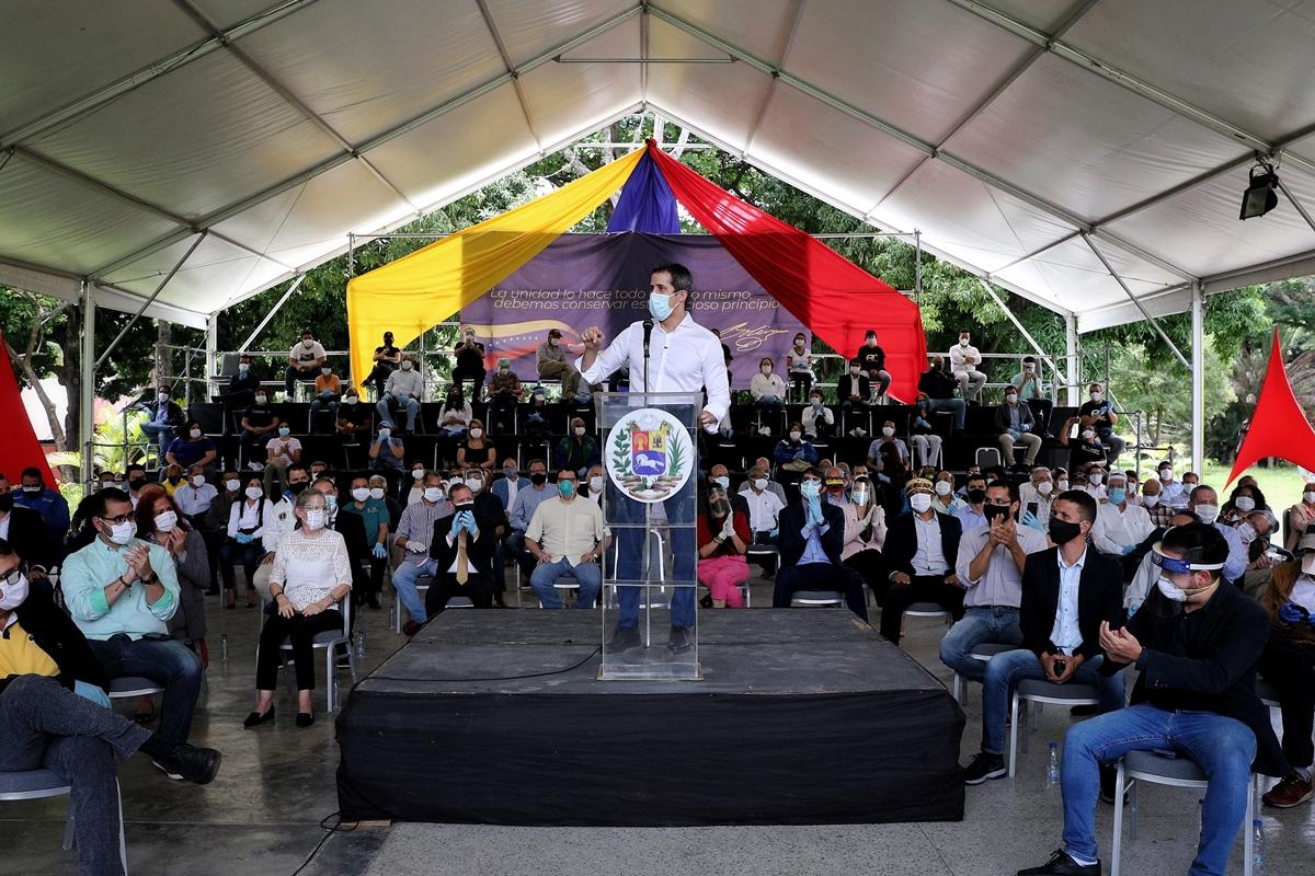 Juan Guaidó Pacto Unitario